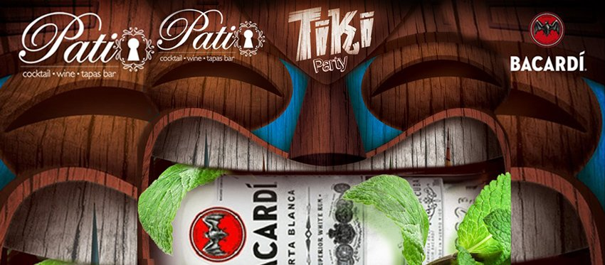 Bacardi Presents - Tiki Night at Patio