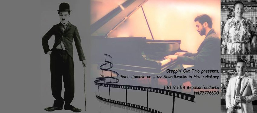 Piano jammin on Jazz Soundtracks in Movie History at Zaatar Food and Arts