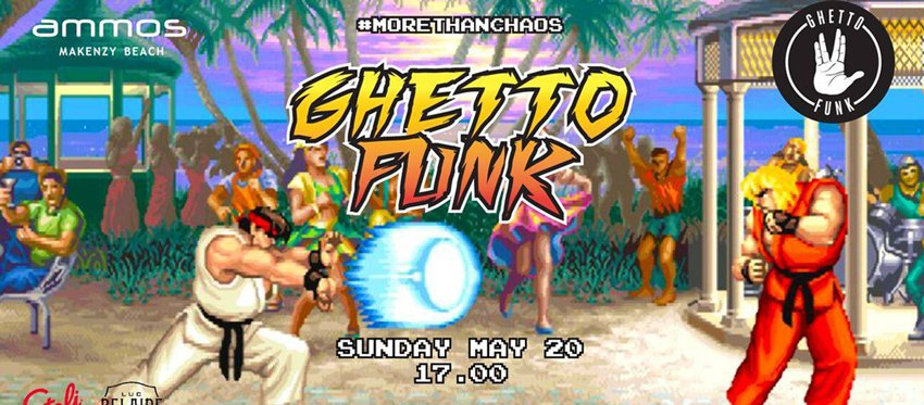 Ghetto Funk Sunset Stories at Ammos | Sunday May 20