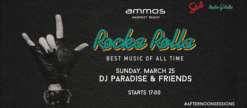Rocka Rolla Insane Sunday I Sun 25 March
