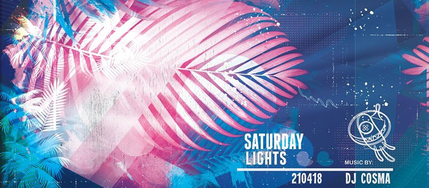 Saturday Lights at Ammos with Dj Cosma | April 21