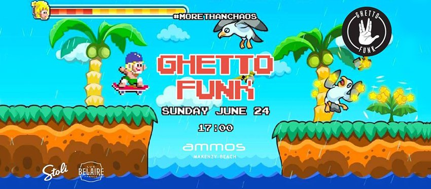 Ghetto Funk Sunset Stories at Ammos | Sunday June 24