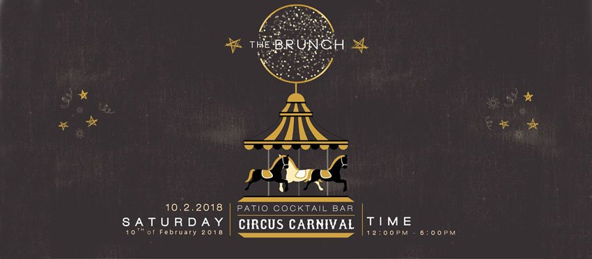 The Patio Brunch - Circus Carnival