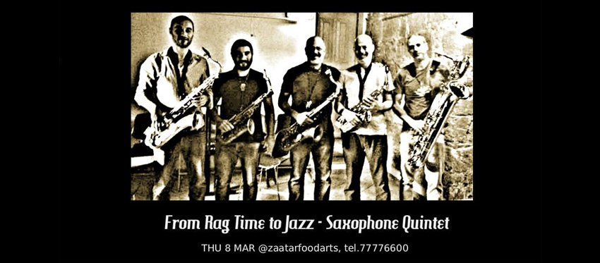 From Rag Time to Jazz - Saxophone Quintet