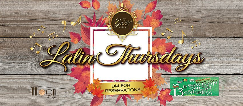 Balkan Congress Promo Party - Latin Thursdays at Moon Lounge Bar