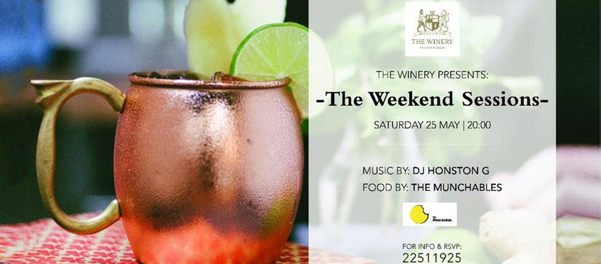 THE WINERY WEEKEND SESSIONS (Vol.3)
