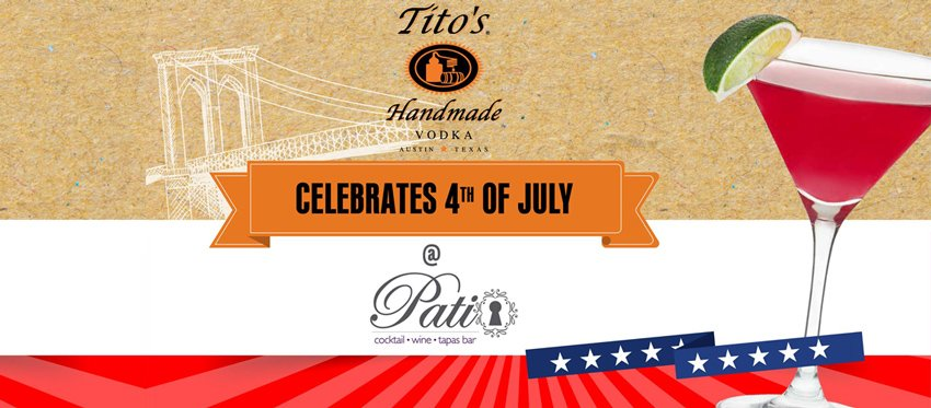 Celebrate 4th of July at Patio Cocktail & Wine Bar