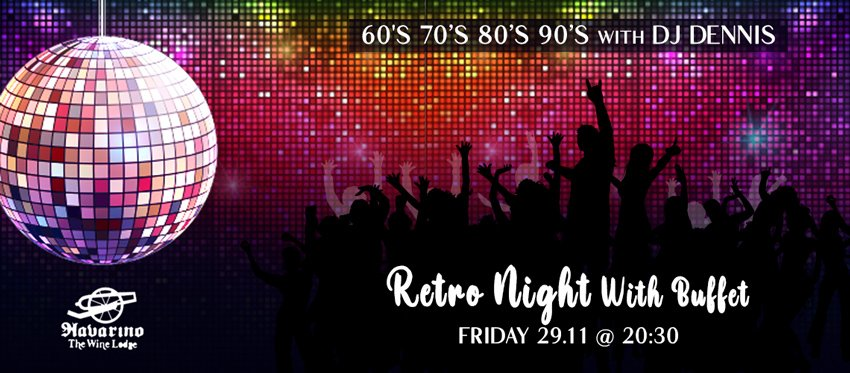 Retro Night at Navarino