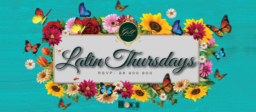 Latin Thursdays with DJ Nico at Moon Lounge Bar