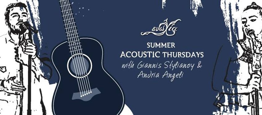 Summer Acoustic Thursdays at Evohia