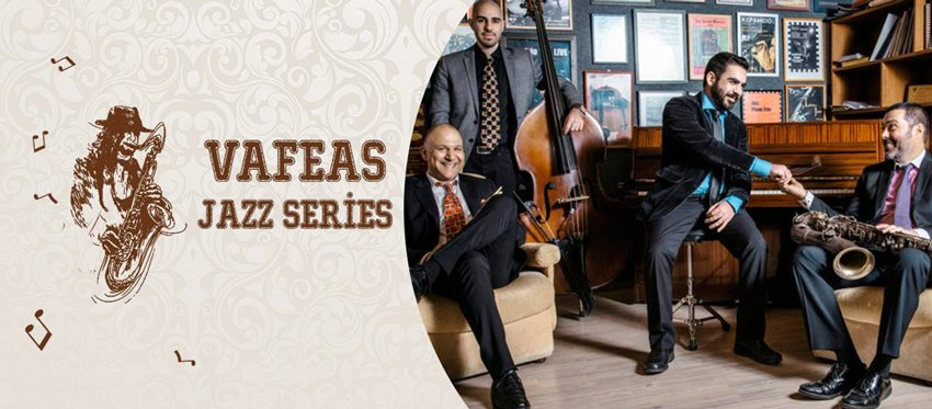 Vafeas Jazz Series at Cafe Americain