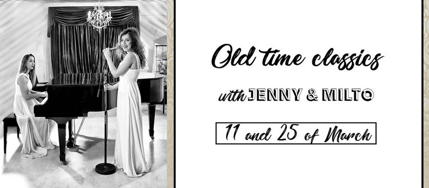 Old time classics with Jenny & Milto at Cafe Americain | March 25