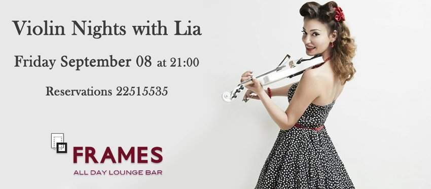 Electric Violin by Lia at Frames