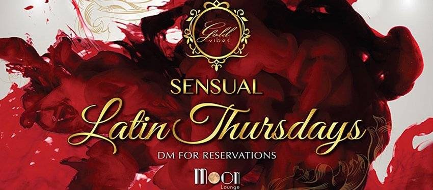 Sensual Latin Thursdays at Moon Lounge Bar